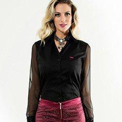 camisa feminina principessa alyssa