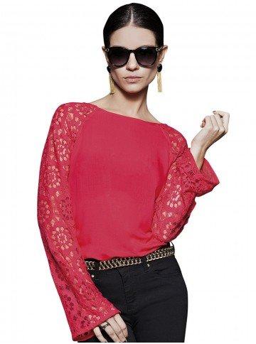 blusa vermelha lolita