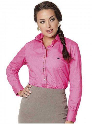camisa pink social principessa edilene