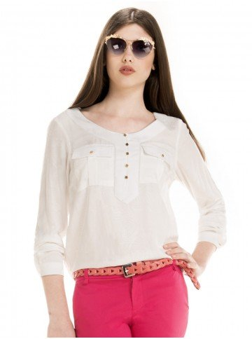 blusa feminina branca estefane look