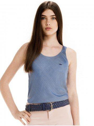 regata feminina jeans principessa rozane look