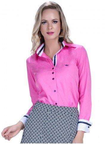 camisa feminina premium social principessa norah look