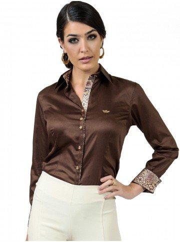 camisa premium fio egipcio principessa anelise look