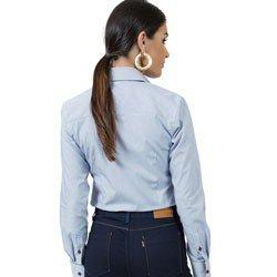 detalhe camisa feminina premium principessa cleusa modelagem