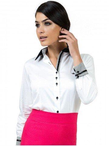 camisa social branca premium principessa gisele look