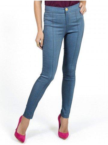 calca bengaline jeans principessa filipa cintura alta look