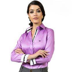 detalhe camisa fio egipcio acetinado premium principessa glaucia look