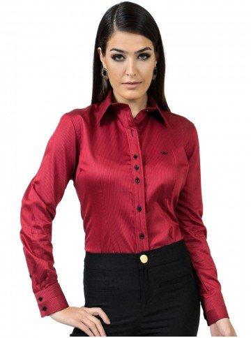 camisa fio egipcio premium listrada principessa augustha look