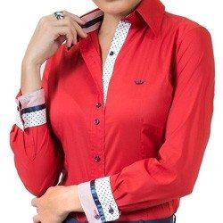 camisa social feminina com elastano principessa lizandra tecido confortavel