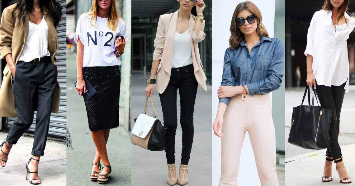 casual chic outfit 2018