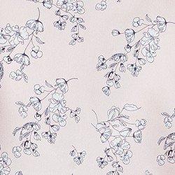 blusa floral rose principessa alaiane tecido