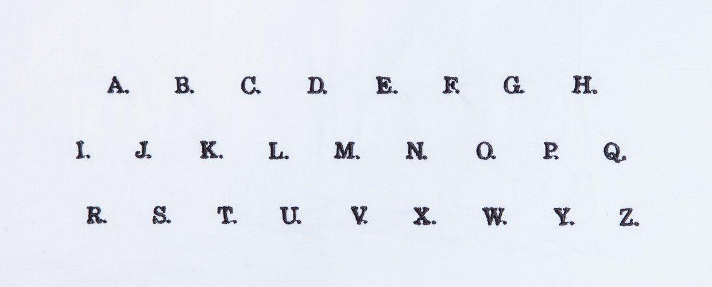 letras monograma banner