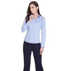 camisa social azul personalizada principessa isla GERAL
