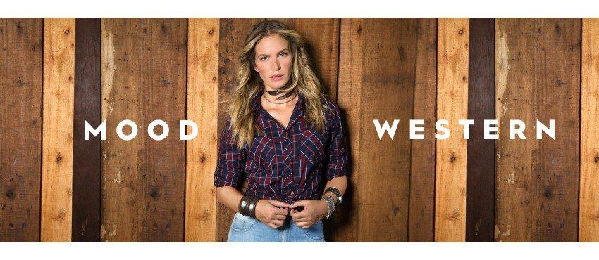 A Tendência Western na Camisaria Feminina