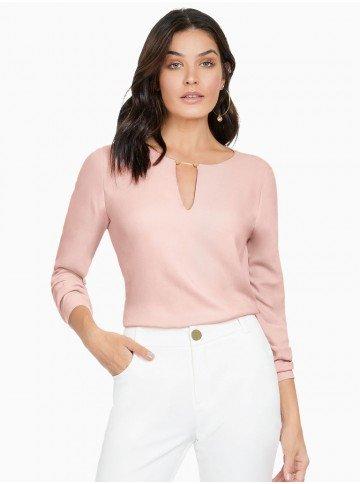 blusa feminina rose principessa susan frente2