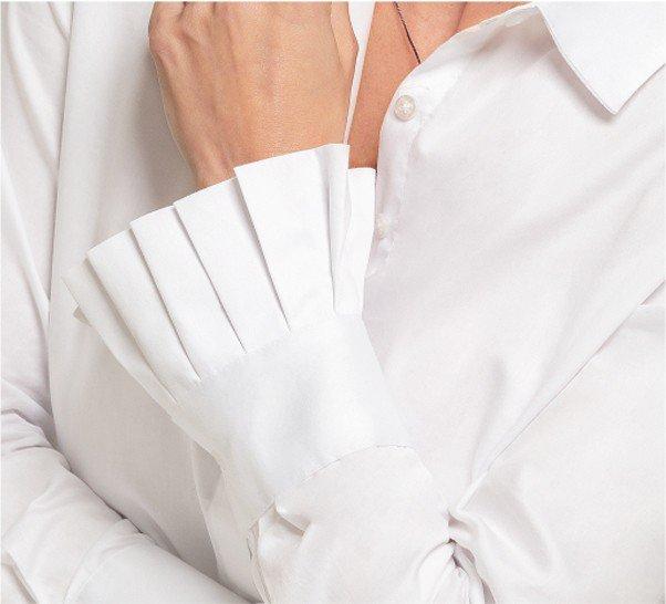 Detalhe pulso branco
