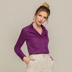 camisa personalizada violeta donatella classica