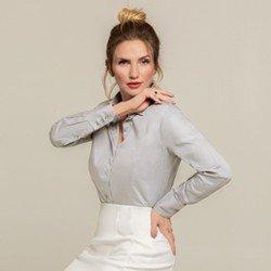 camisa personalizada cinza harper modelo selecionado