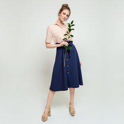 saia clochard marinho magnolia geral