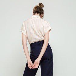 camisa listrada t alexandra modelagem