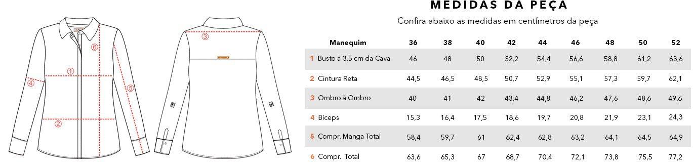 tabela medidas catherine