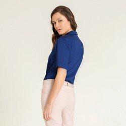 camisa marinho gola blazer meise modelagem