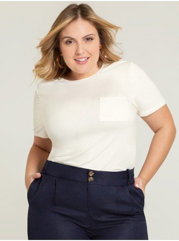 blusa off white valente frente plus