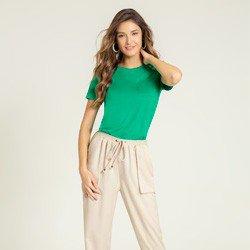 blusa verde com bolso maindra geral
