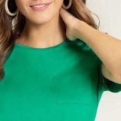 blusa verde maindra bolso