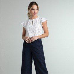 blusa laise off white samira geral