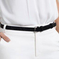 cinto fino texturizado preto wendy comprimento