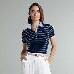 camisa polo marinho listrada dominika geral
