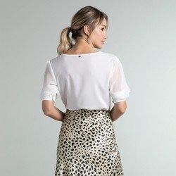 blusa off white mg transpassada lauane modelagem