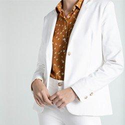 blazer off white alfaiataria kora alfaiataria
