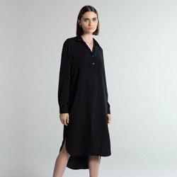 vestid chemise preto samsara modelagem