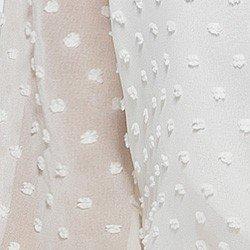 blusa feminina com gola laco off white eugine detalhe tecido