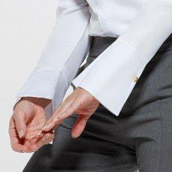 camisa manga bufante branca aliane detalhe punho