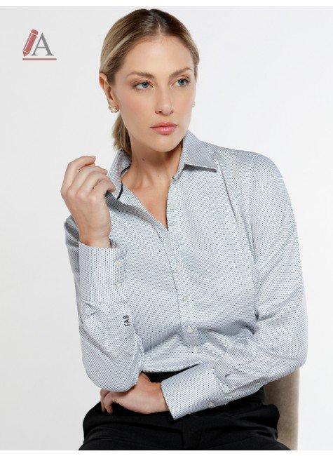 camisa social personalizada de poa francini