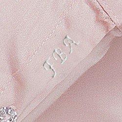 detalhe bordado camisa rose amber plus