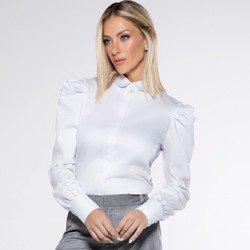 detalhe camisa manga bufante branca martinah