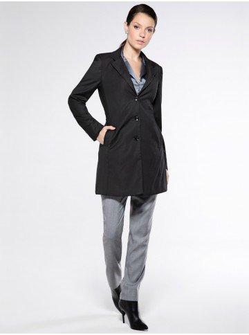 casaco sobretudo preto feminino dorothyu