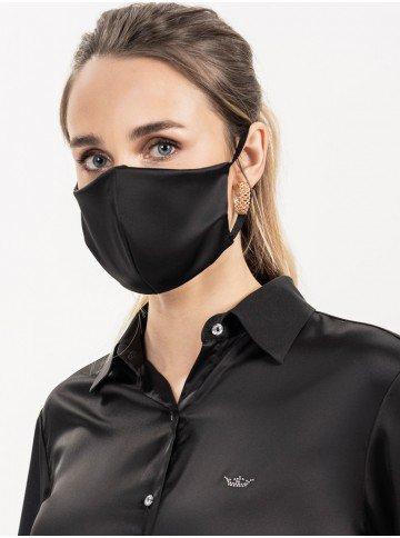 mascara protecao cetim preta alda
