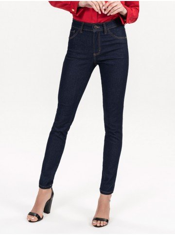 calca jeans feminina skinny escura hebe full version