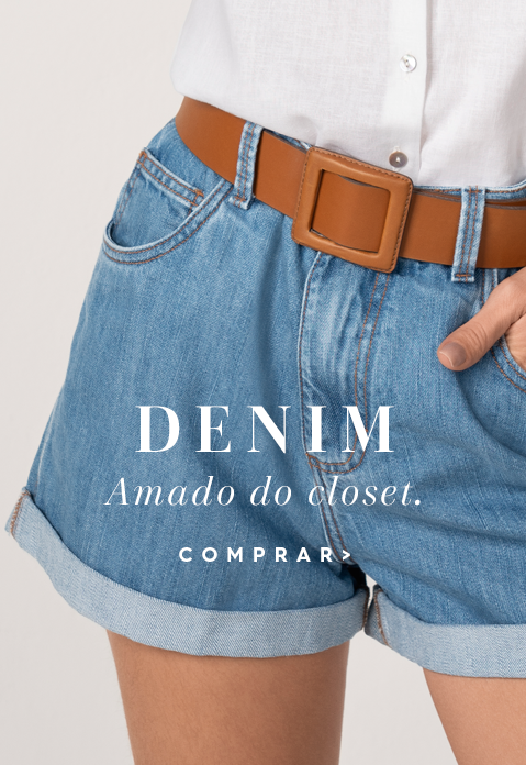 Denim amado do closet