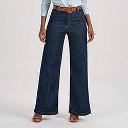 calca jeans pantalona feminina helo