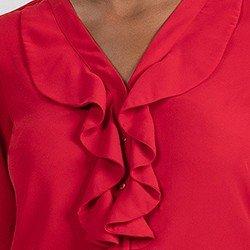 mini camisa vermelha babado detalhe isis 1