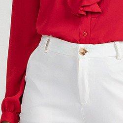 mini camisa vermelha babado detalhe isis 2