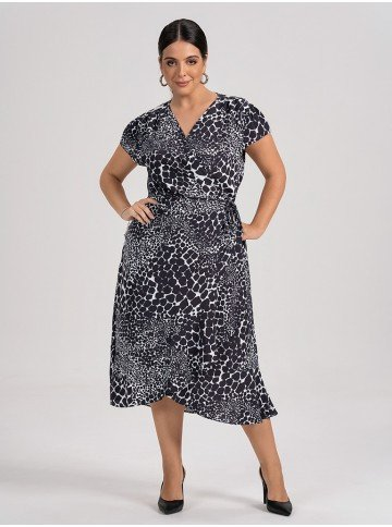 vestido animalprint ianca plus1