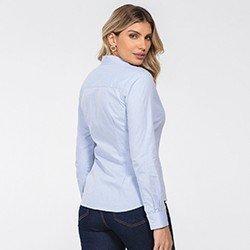camisa feminina azul claro jessie costas