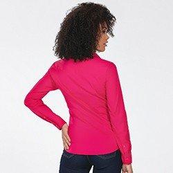 camisa feminina manga longa pink jaciaracostas